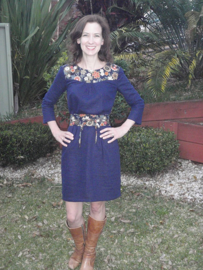 LIsette Itinerary Dress, Simplicity 2060