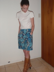 Cheap & Cheerful Skirt, Simplicity 2451