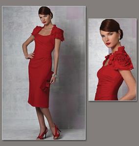 Vogue 1162 - Smokin' Dress