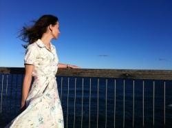 Simplicity 1880 shirt dress - windswept and finished!