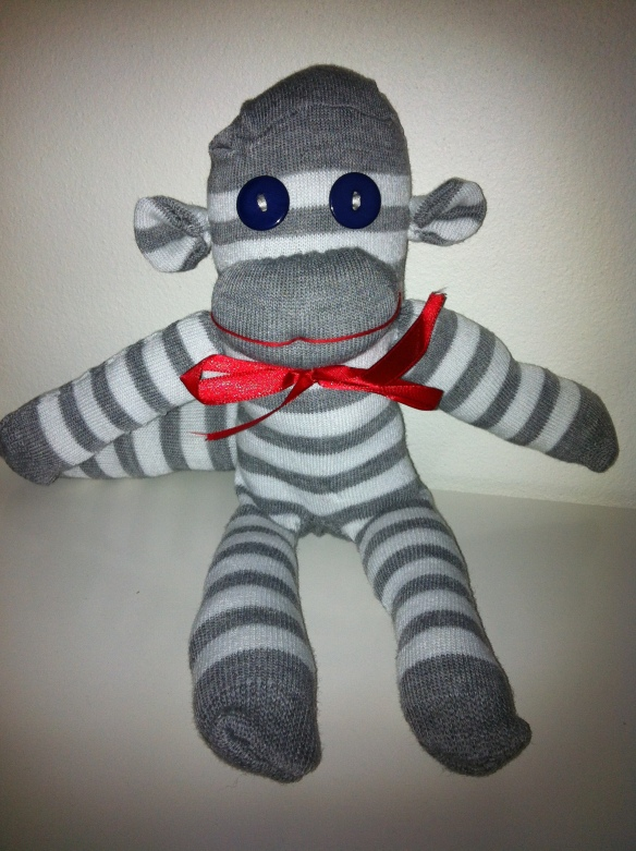 Louie the sock monkey