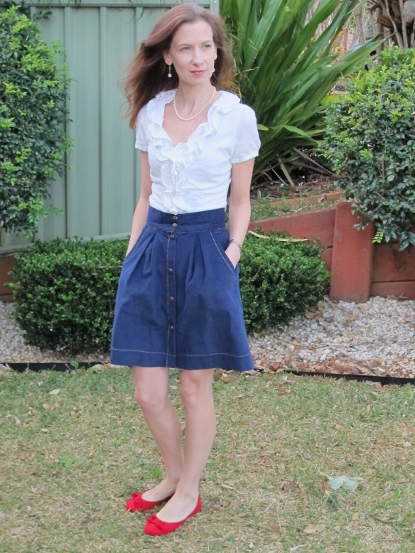 Megan Neilson's Kelly Skirt - I never thought a pattern could be so sweet.