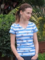 MariaDenmark Birgitte Basic T-shirt - short sleeved t-shirt