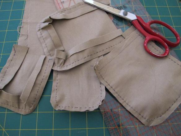 BurdaStyle 03/2012 #117 Children's Vest in progress