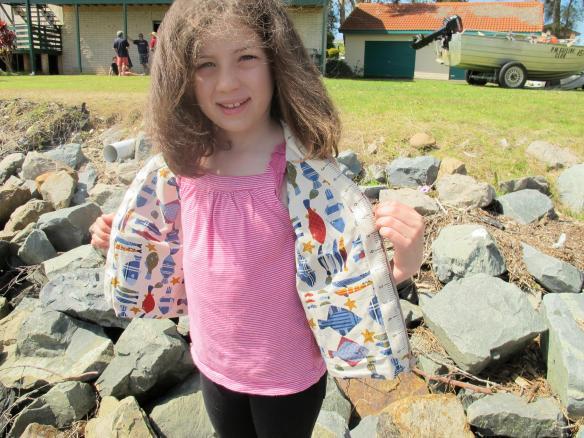 BurdaStyle Children's Vest 03/2012 #117
