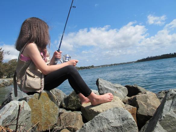 Fishing vest!