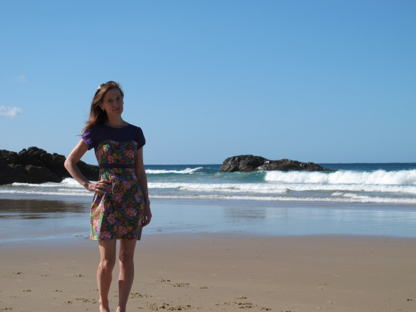 Colette Macaron - beach shot