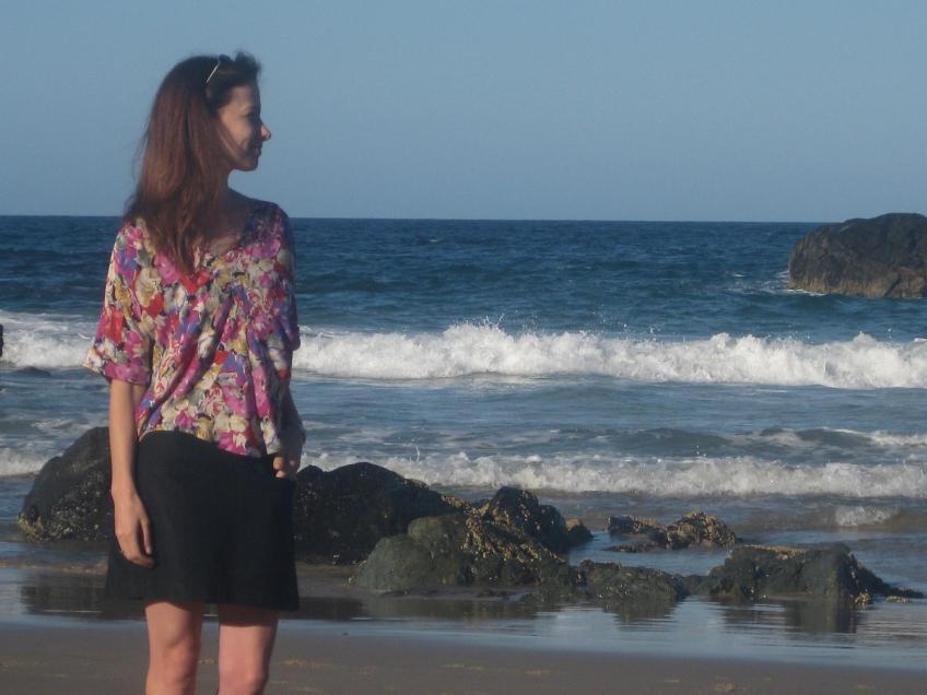 Vogue 1247 - on the beach