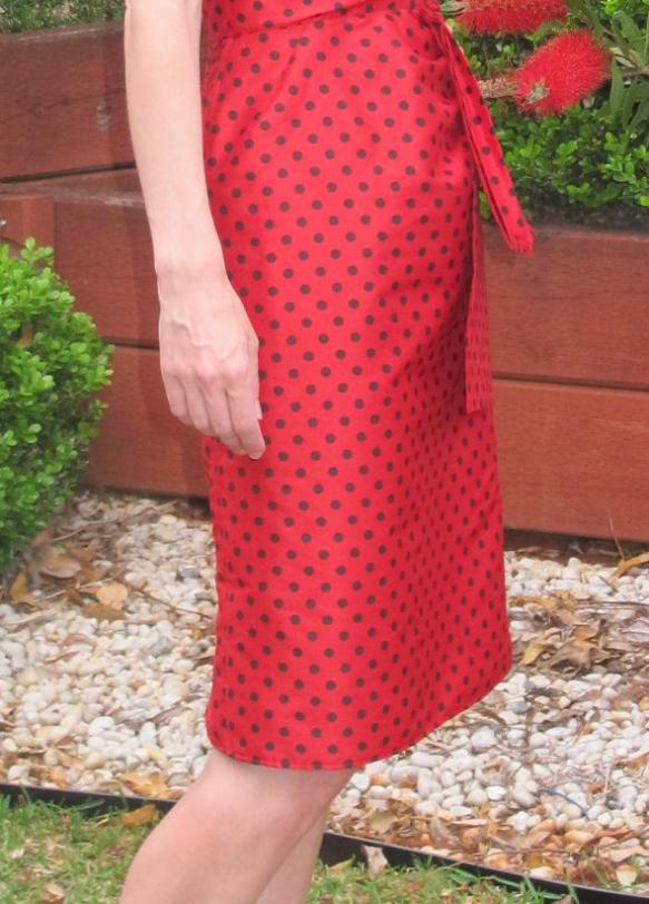 Butterick 5814 - skirt puff!