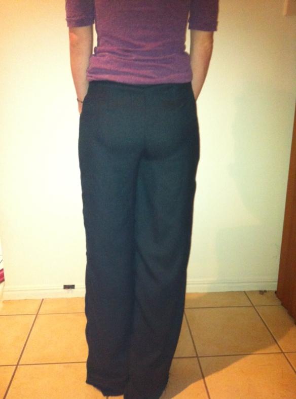 MariaDenmark Winnie Trousers: muslin back