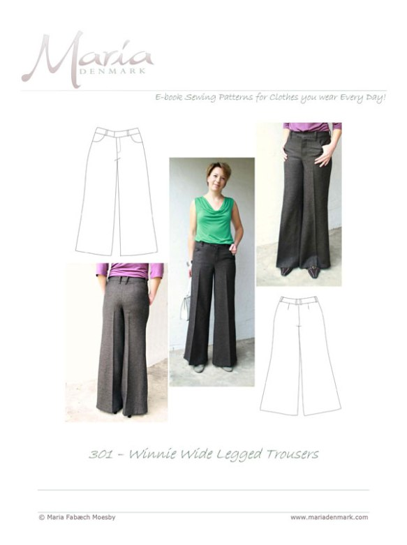 MariaDenmark 301 – Winnie Wide Legged Trousers