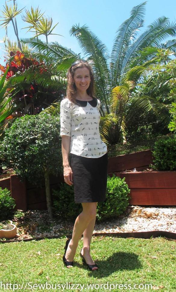 Sewaholic Alma - work blouse
