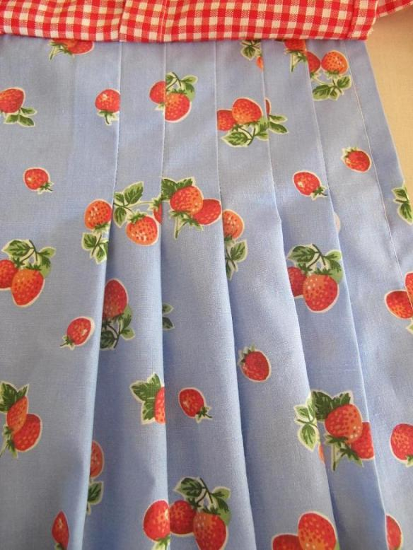 B5474, view E. Strawberry Fields Forever pleated underskirt