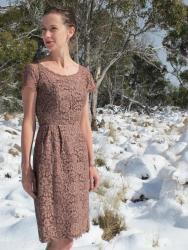 Happy Birthday Vintage Dress - old gal