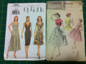 Christmas 2012 dress pattern choices
