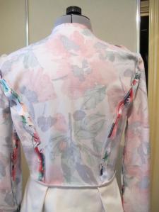 McCalls 6611: inside jacket back