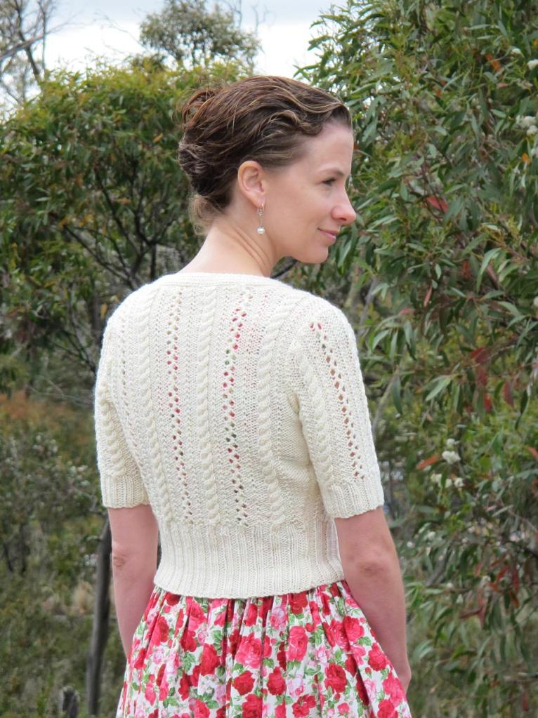 Sewaholic Cambie and Whole Wheat cardigan