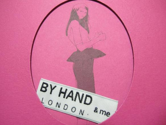 By Hand London label