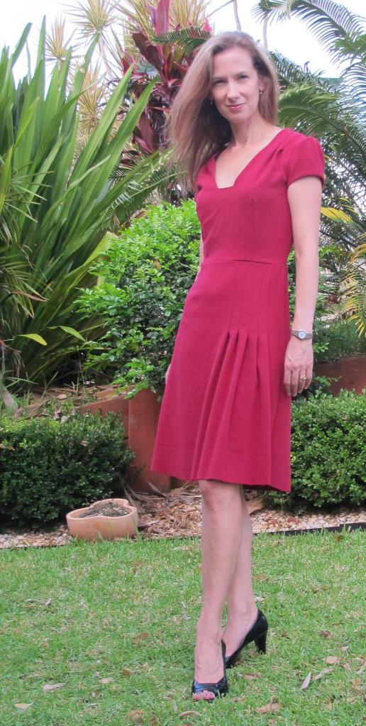 My Little Red Dress: front view