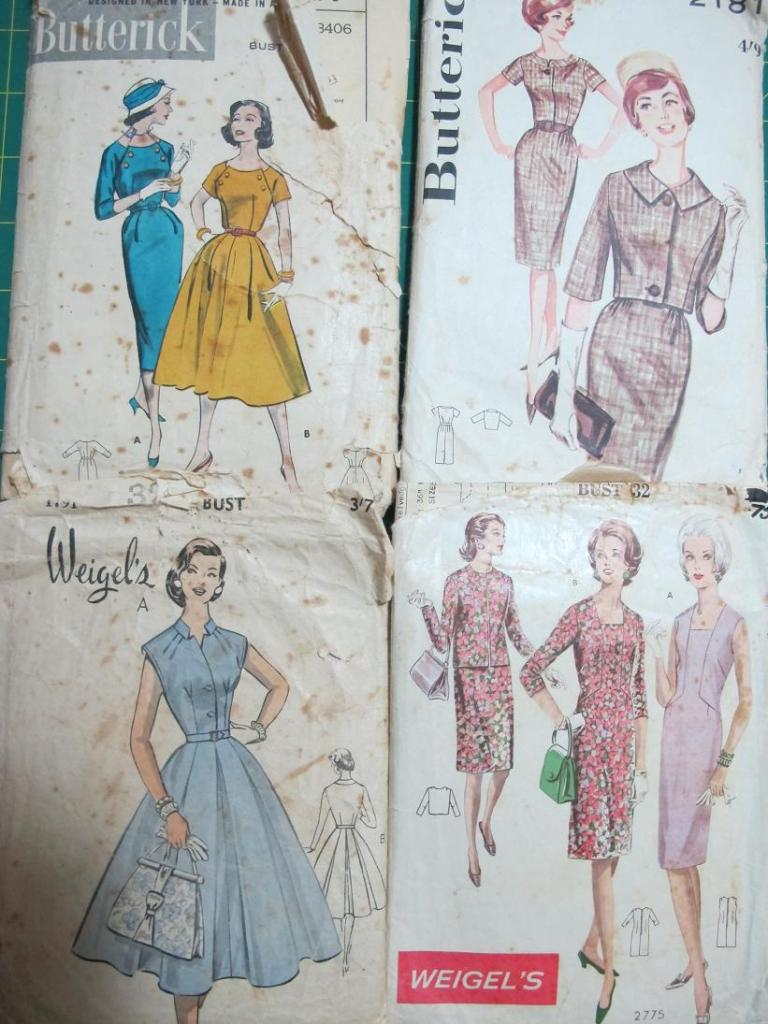 Grandma's patterns - too precious!