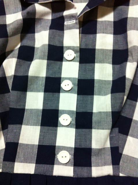 Vogue 8028 mash-up - shirt front