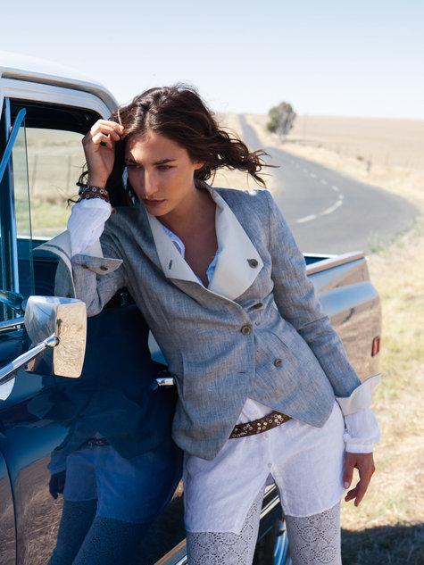 Crossover blazer - Burda Style