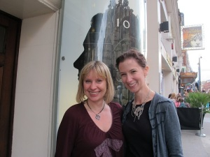Claire-Louise Hardie & me!
