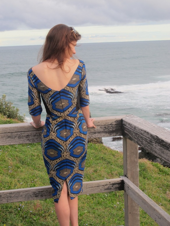 Elisalotte dress - back
