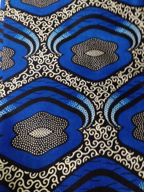 African wax fabric from Brixton.