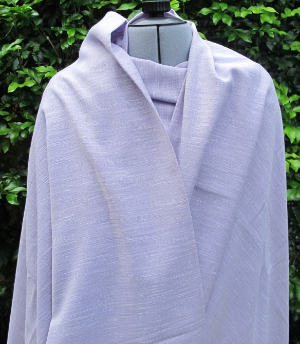 Mauve wool from Goldhawk Road