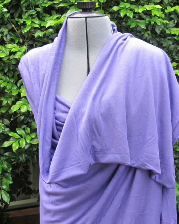 Purple knit from Goldhawk Road