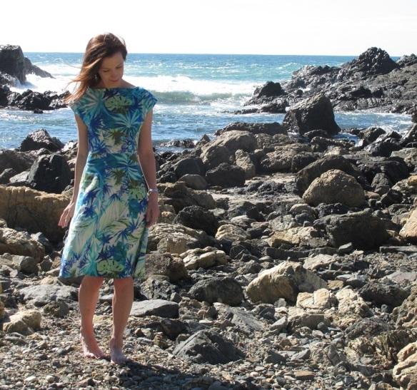 Anna Blue dress