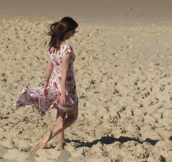 Anna Rose - sand dunes