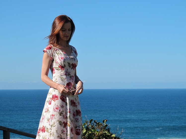 Anna 'roses' dress from By Hand London