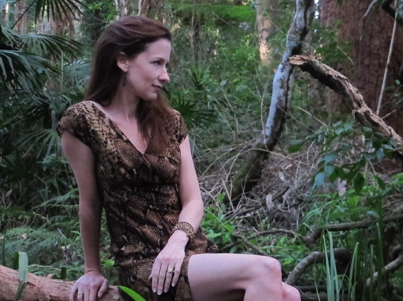 Just hanging around in the jungle with my Anna.