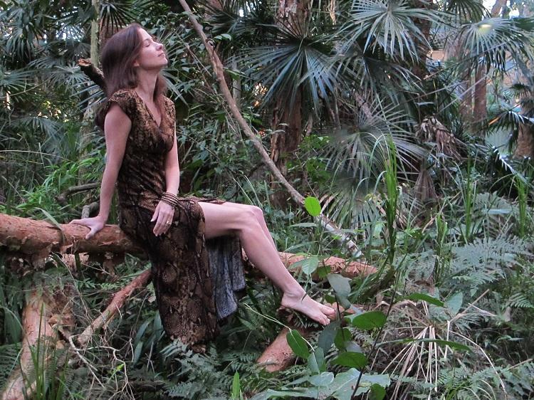 Jungle Anna - hanging around waiting for Tarzan