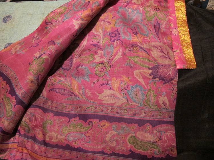 By Hand London - the sari lining.