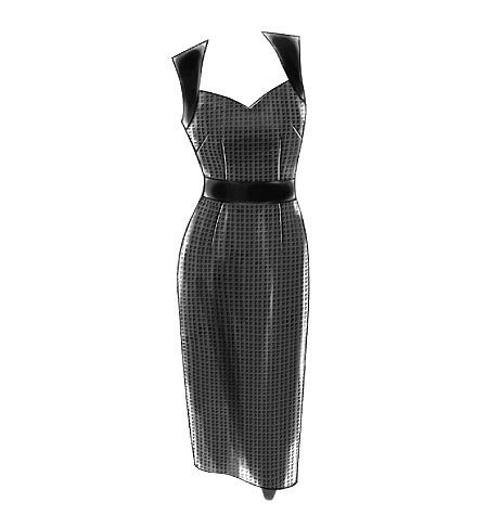 Vogue 8280 - sleeveless