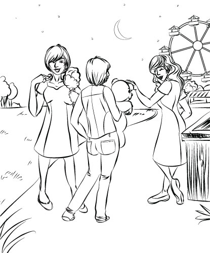 Mari of Disparate Disciplines 1401 Dandelion Sketch