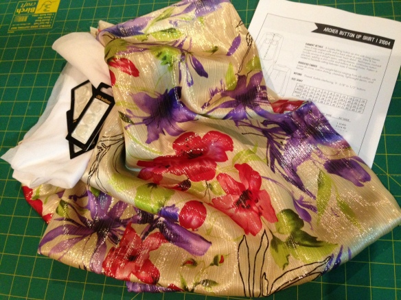 Sew Bossy package from Leila of Three Dresses