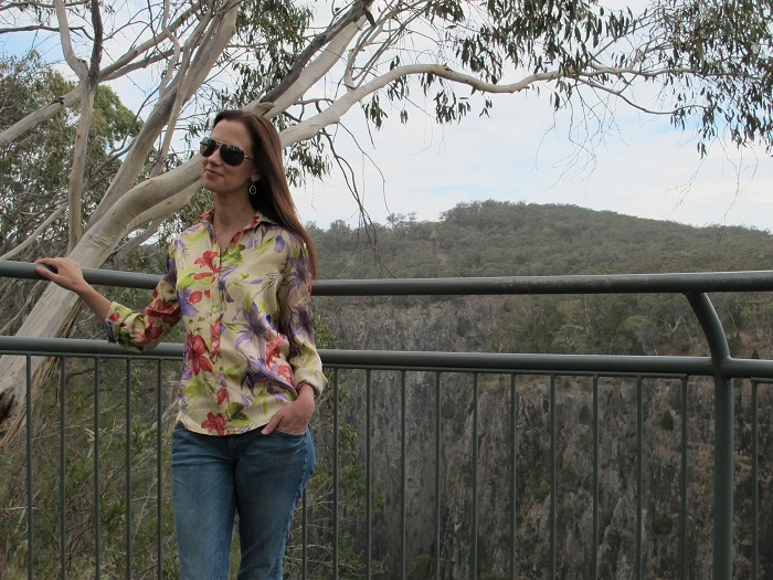 Not my favoutire shot - however it's slightly less windy and the shirt is sitting more 'normally'!