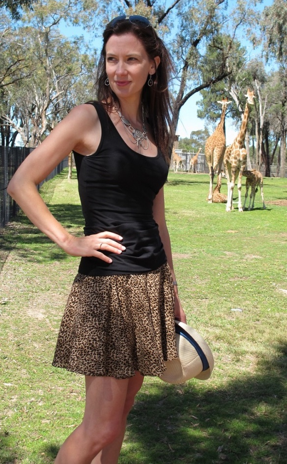 Tania Culottes and the odd giraffe