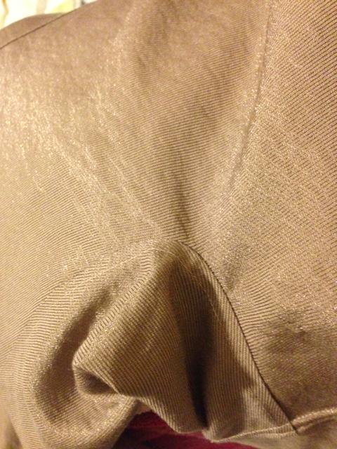 Burda 7401 - sleeve gusset... so much harder than it looks.