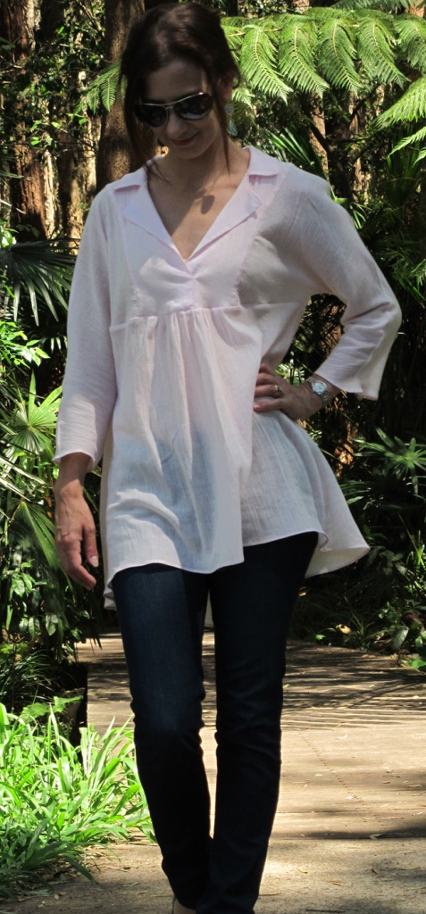 The Late Lunch Tunic when you actually want to go out and eat lunch...