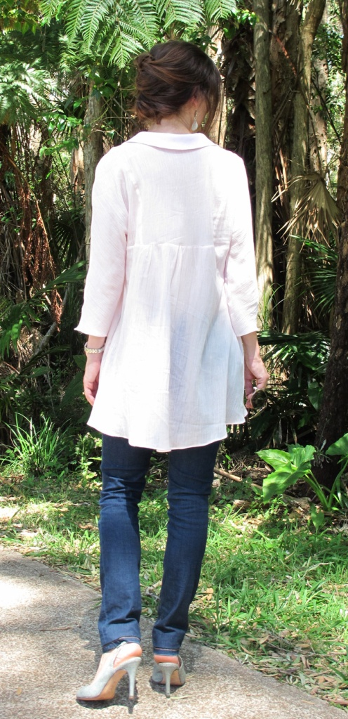 Liesl + Co Late Lunch Tunic - back view