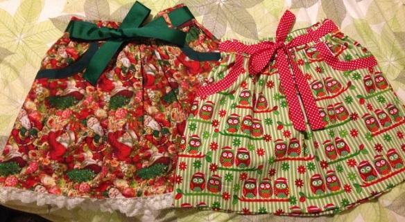 Burda 9489 Christmas Skirts