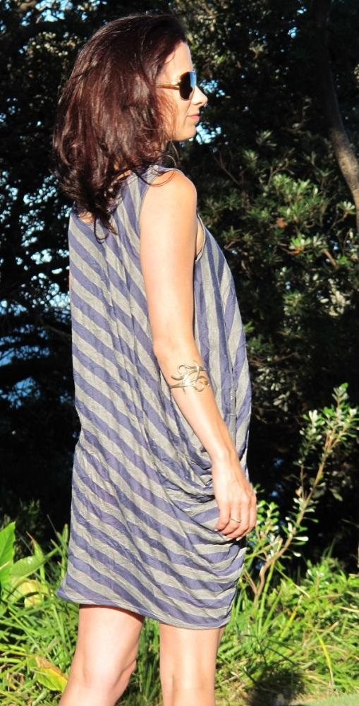 Drape Drape 2. Pattern No. 2, the one-piece side drape top