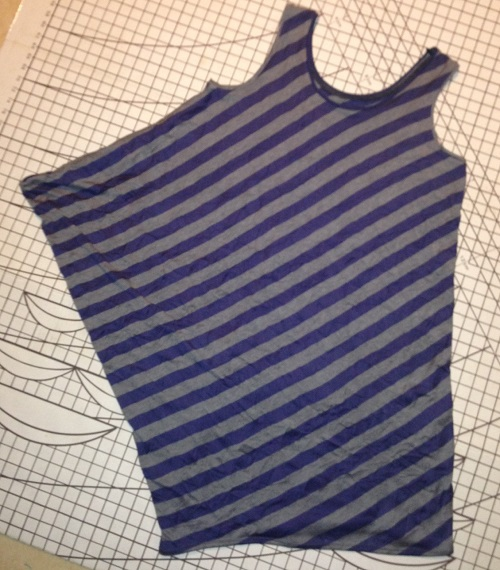 Drape Drape 2. Pattern No. 2, the one-piece side drape top
