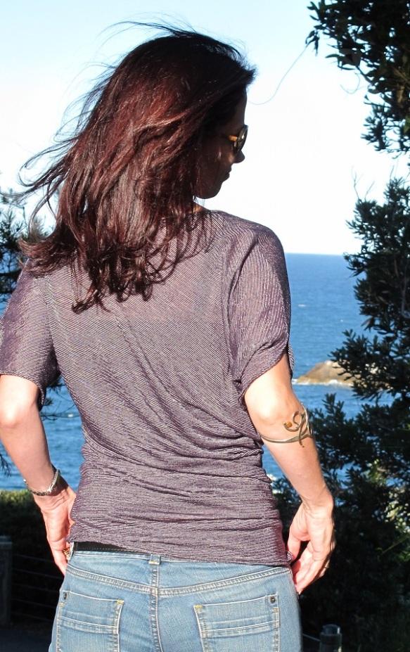 Пелерина Пелерина 2: шея рубашка Pattern № 4 Асимметричная Совок