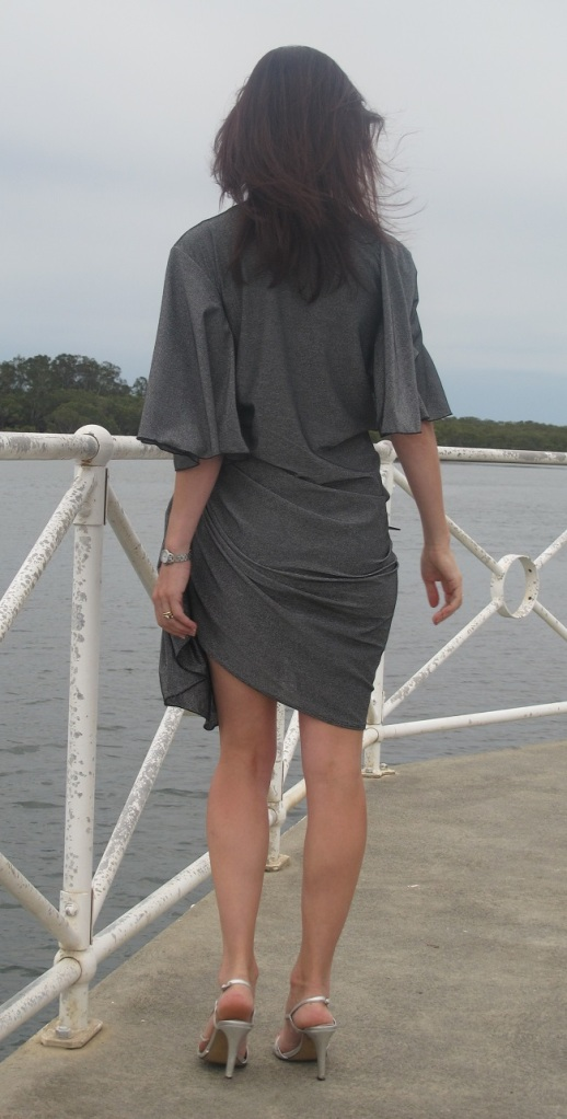 Drape Drape 3 No 12. Draped Wrap Dress